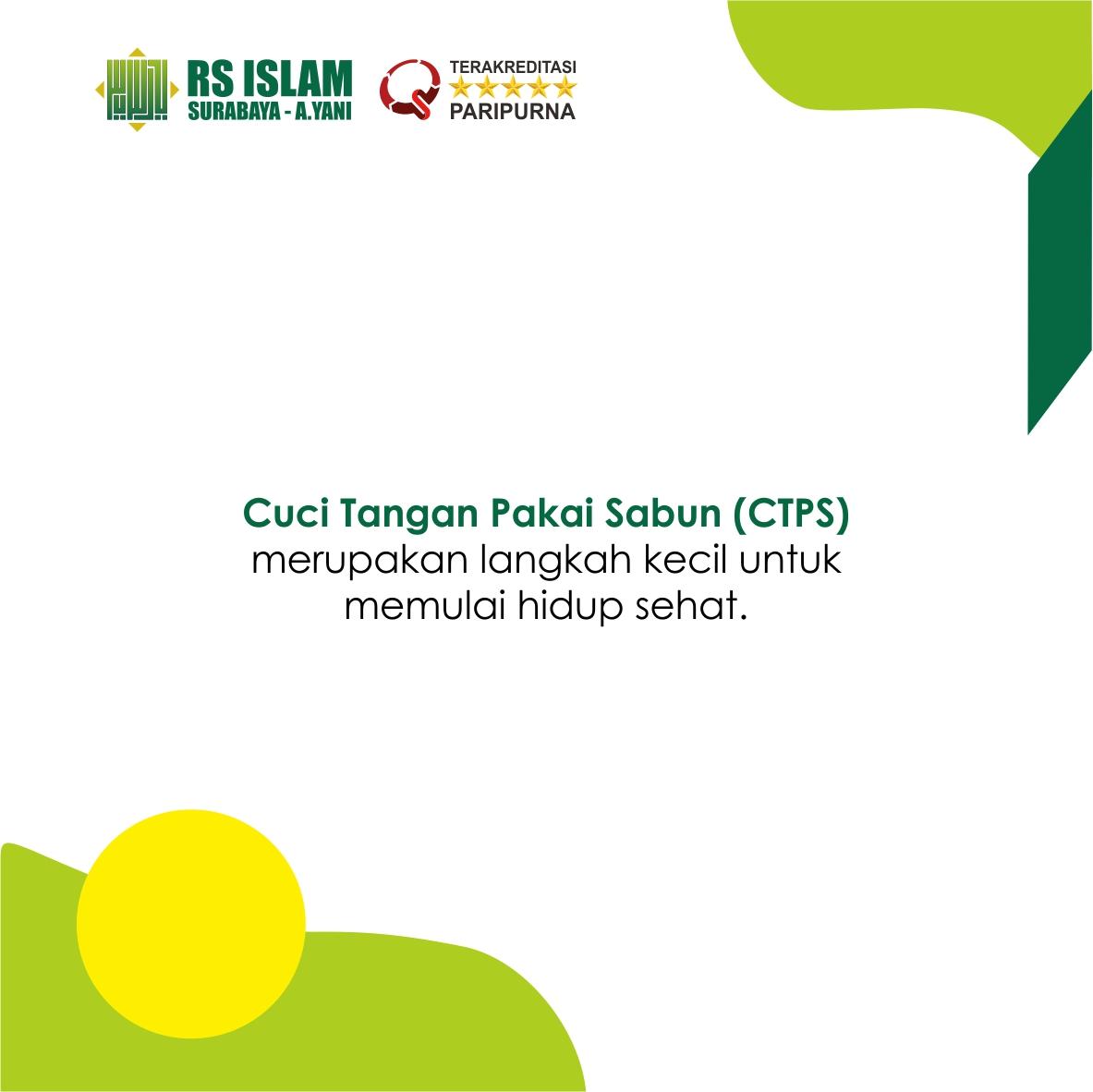 Hari Cuci Tangan Pakai Sabun Sedunia 2019 Rs Islam Surabaya